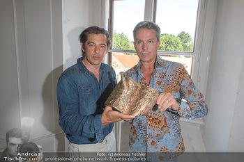 Austrian Art Award DFG - Modeschule Wien Schloss Hetzendorf - Mi 26.06.2019 - Werner SCHREYER, Alfons HAIDER3