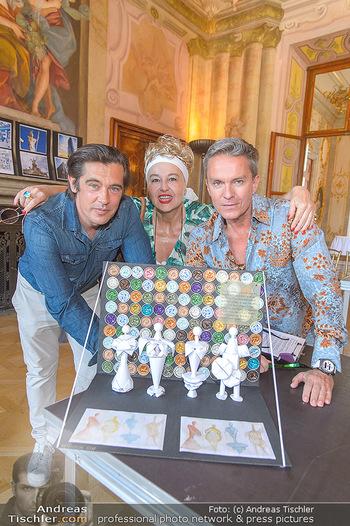 Austrian Art Award DFG - Modeschule Wien Schloss Hetzendorf - Mi 26.06.2019 - Alfons HAIDER, Andrea BUDAY, Werner SCHREYER18