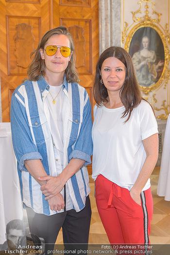 Austrian Art Award DFG - Modeschule Wien Schloss Hetzendorf - Mi 26.06.2019 - Pierre SARKOZY, Sabine KARNER19