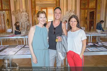 Austrian Art Award DFG - Modeschule Wien Schloss Hetzendorf - Mi 26.06.2019 - Michel MAYER, Sabine KARNER, Andreas EBERHARTER20