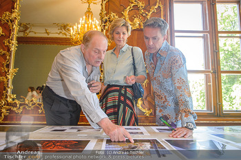 Austrian Art Award DFG - Modeschule Wien Schloss Hetzendorf - Mi 26.06.2019 - Christian Ludwig ATTERSEE, Desiree TREICHL-STÜRGKH, Alfons HAID21