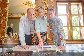 Austrian Art Award DFG - Modeschule Wien Schloss Hetzendorf - Mi 26.06.2019 - Christian Ludwig ATTERSEE, Desiree TREICHL-STÜRGKH, Alfons HAID23