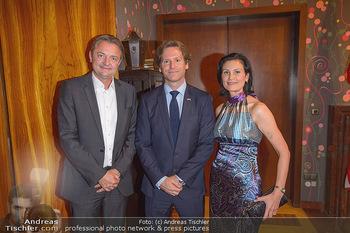 Independence Day Party - Residenz der US-Botschaft, Wien - Mi 26.06.2019 - Gerald GERSTBAUER, Trevor D. TRAINA, Silvia GRÜNBERGER2