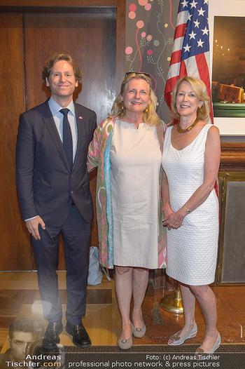 Independence Day Party - Residenz der US-Botschaft, Wien - Mi 26.06.2019 - Karin KNEISSL, Trevor D. TRAINA, Jackie WALCOTT6