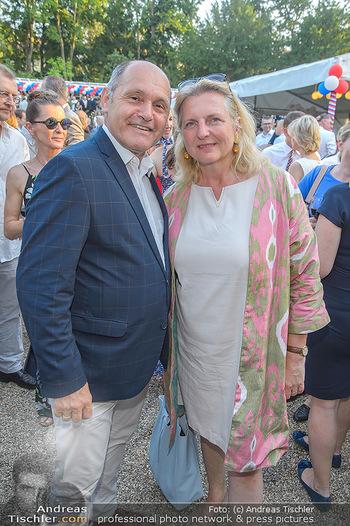 Independence Day Party - Residenz der US-Botschaft, Wien - Mi 26.06.2019 - Karin KNEISSL, Wolfgang SOBOTKA11