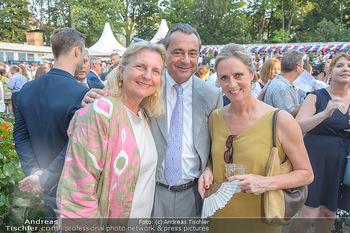 Independence Day Party - Residenz der US-Botschaft, Wien - Mi 26.06.2019 - Karin KNEISSL, Michael ZIMPFER, Robyn ALLARDICE-BOURNE14