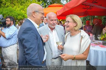 Heurigen-Treff mit Mikl-Leitner - Weingut Johanneshof Reinisch, Tattendorf - Do 27.06.2019 - Frank HENSEL, Manfred AINEDTER, Johanna MIKL-LEITNER22