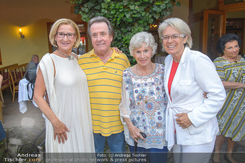 Heurigen-Treff mit Mikl-Leitner - Weingut Johanneshof Reinisch, Tattendorf - Do 27.06.2019 - Johanna MIKL-LEITNER, Rudolf BUCHBINDER, Waltraud HAAS, Petra BO25