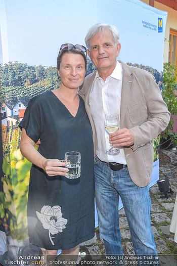 Heurigen-Treff mit Mikl-Leitner - Weingut Johanneshof Reinisch, Tattendorf - Do 27.06.2019 - Barbara STÖCKL mit Ehemann Fritz RIFFER28
