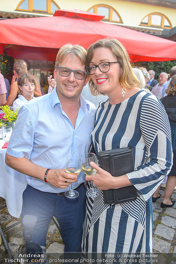 Heurigen-Treff mit Mikl-Leitner - Weingut Johanneshof Reinisch, Tattendorf - Do 27.06.2019 - Serge FALCK, Susanna WIESNER42