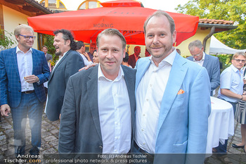 Heurigen-Treff mit Mikl-Leitner - Weingut Johanneshof Reinisch, Tattendorf - Do 27.06.2019 - Niki und Nils KLINGOHR44
