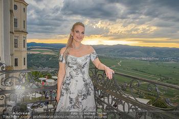 Klassik unter Sternen - Stift Göttweig - Mi 03.07.2019 - Elina GARANCA am Balkon des Stift Göttweig1