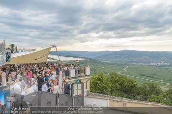 Klassik unter Sternen - Stift Göttweig - Mi 03.07.2019 - Terrasse mit Raiffeisen Empfang im Stift Göttweig5