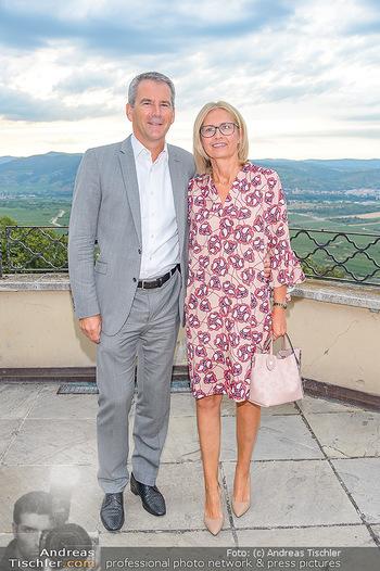 Klassik unter Sternen - Stift Göttweig - Mi 03.07.2019 - Hartwig LÖGER mit Ehefrau Claudia19