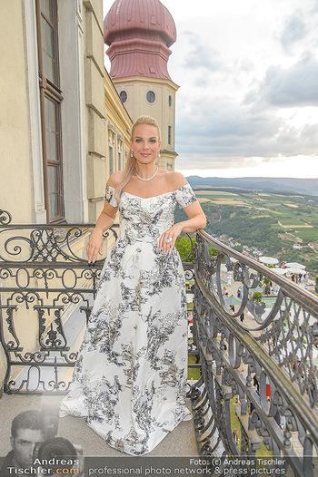 Klassik unter Sternen - Stift Göttweig - Mi 03.07.2019 - Elina GARANCA am Balkon des Stift Göttweig33