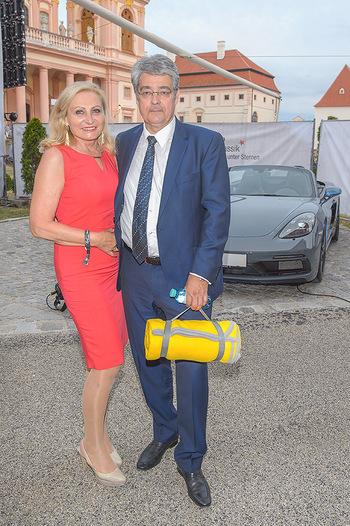 Klassik unter Sternen - Stift Göttweig - Mi 03.07.2019 - Wolfgang HESOUN mit Ehefrau Brigitte62