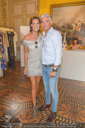 Fashion CheckIn - Albertina, Wien - Sa 06.07.2019 - Kathi STUMPF, Alex BEZA5