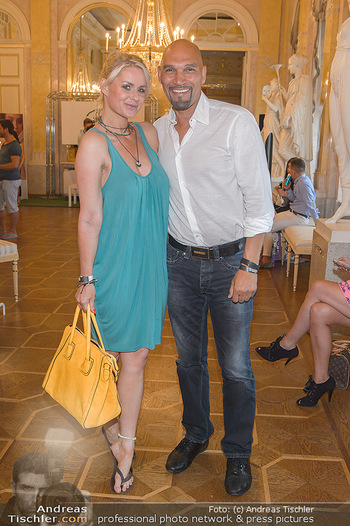 Fashion CheckIn - Albertina, Wien - Sa 06.07.2019 - Kathi STEININGER, Cyril RADLHER11