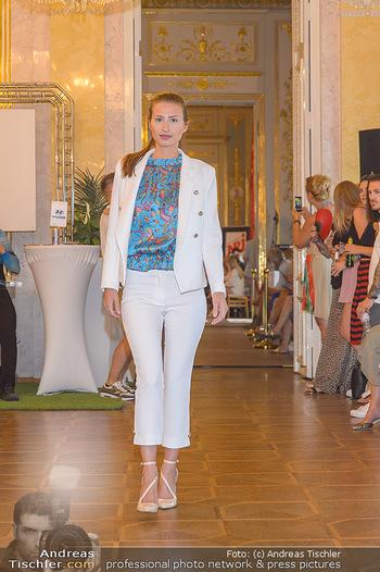 Fashion CheckIn - Albertina, Wien - Sa 06.07.2019 - Modenschau, Laufsteg in den Prunkräumen18
