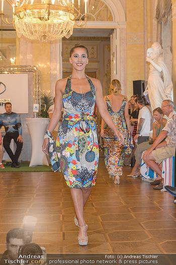 Fashion CheckIn - Albertina, Wien - Sa 06.07.2019 - Modenschau, Laufsteg in den Prunkräumen21