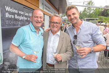 Hill Lounge Opening - Rathaus Wien - Di 09.07.2019 - Herbert PROHASKA, Hans NIESSL, Leo HILLINGER1