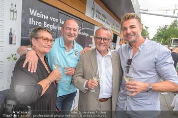 Hill Lounge Opening - Rathaus Wien - Di 09.07.2019 - Herbert PROHASKA mit Ehefrau Elisabeth, Hans NIESSL, Leo HILLING2