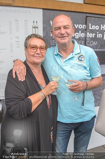 Hill Lounge Opening - Rathaus Wien - Di 09.07.2019 - Herbert PROHASKA mit Ehefrau Elisabeth3
