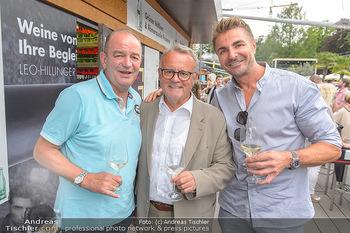 Hill Lounge Opening - Rathaus Wien - Di 09.07.2019 - Herbert PROHASKA, Hans NIESSL, Leo HILLINGER4