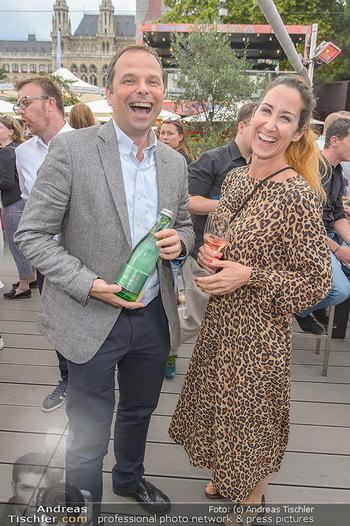 Hill Lounge Opening - Rathaus Wien - Di 09.07.2019 - Philipp BODZENTA, Kati BELLOWITSCH5