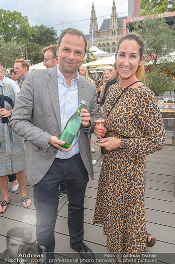 Hill Lounge Opening - Rathaus Wien - Di 09.07.2019 - Philipp BODZENTA, Kati BELLOWITSCH6