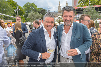 Hill Lounge Opening - Rathaus Wien - Di 09.07.2019 - Andi Andreas WOJTA, Martin ROHLA12