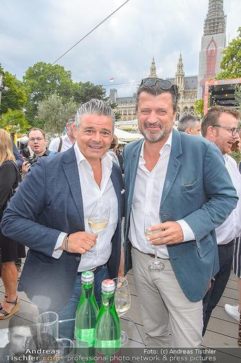 Hill Lounge Opening - Rathaus Wien - Di 09.07.2019 - Andi Andreas WOJTA, Martin ROHLA13