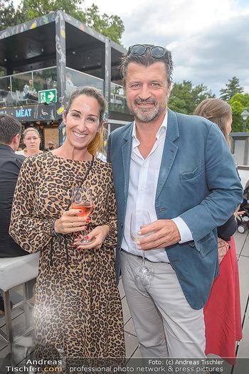 Hill Lounge Opening - Rathaus Wien - Di 09.07.2019 - Kati BELLOWTISCH, Martin ROHLA16