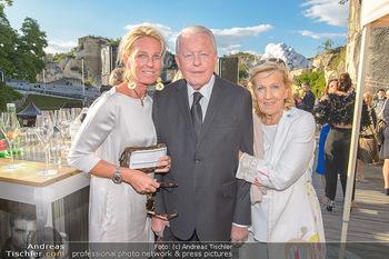 Die Zauberflöte Premiere - Oper im Steinbruch St. Margarethen - Mi 10.07.2019 - Familie Franz VRANITZKY mit Tochter Claudia und Ehefrau Christin17