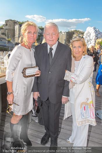 Die Zauberflöte Premiere - Oper im Steinbruch St. Margarethen - Mi 10.07.2019 - Familie Franz VRANITZKY mit Tochter Claudia und Ehefrau Christin18