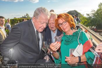 Die Zauberflöte Premiere - Oper im Steinbruch St. Margarethen - Mi 10.07.2019 - Franz VRANITZKY, Rudolf Purzel und Inge KLINGOHR21