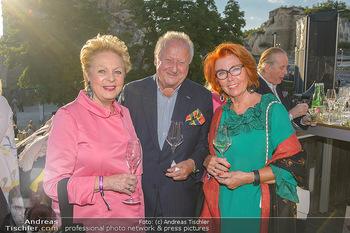 Die Zauberflöte Premiere - Oper im Steinbruch St. Margarethen - Mi 10.07.2019 - Rudolf Purzel und Inge KLINGOHR, Ingeborg SERAFIN29