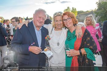Die Zauberflöte Premiere - Oper im Steinbruch St. Margarethen - Mi 10.07.2019 - Rudolf Purzel und Inge KLINGOHR, Christine VRANTIZKY50