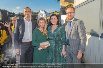 Die Zauberflöte Premiere - Oper im Steinbruch St. Margarethen - Mi 10.07.2019 - Juliane BOGNER-STRAUß mit Ehemann Erik, Elisabeth KÖSTINGER, T58