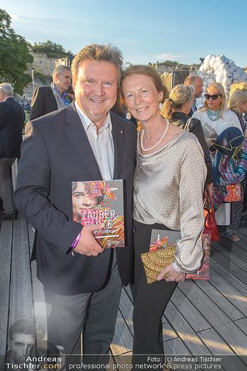 Die Zauberflöte Premiere - Oper im Steinbruch St. Margarethen - Mi 10.07.2019 - Michael LUDWIG mit Ehefrau Irmtraud72