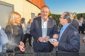 Die Zauberflöte Premiere - Oper im Steinbruch St. Margarethen - Mi 10.07.2019 - Hans Peter DOSKOZIL mit Freundin Julia, Burkhard ERNST73