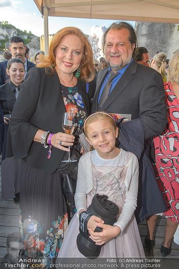 Die Zauberflöte Premiere - Oper im Steinbruch St. Margarethen - Mi 10.07.2019 - Familie Martina SERAFIN mit Ehemann Alessandro GUERZONI und Toch74