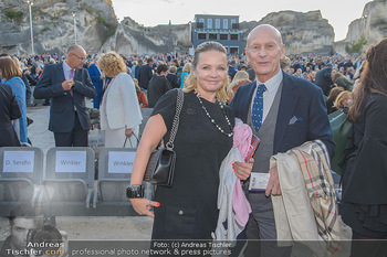 Die Zauberflöte Premiere - Oper im Steinbruch St. Margarethen - Mi 10.07.2019 - Kurt und Joanna MANN105