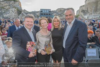 Die Zauberflöte Premiere - Oper im Steinbruch St. Margarethen - Mi 10.07.2019 - Michael LUDWIG mit Ehefrau Irmtraud, Hans Peter DOSKOZIL mit Fre107