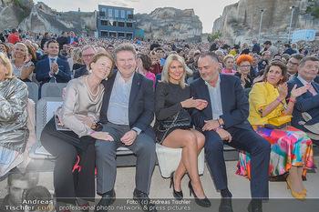 Die Zauberflöte Premiere - Oper im Steinbruch St. Margarethen - Mi 10.07.2019 - Michael LUDWIG mit Ehefrau Irmtraud, Hans Peter DOSKOZIL mit Fre112