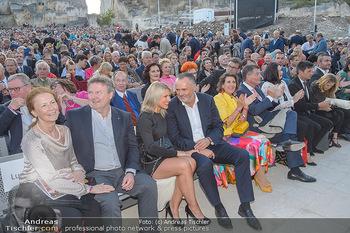 Die Zauberflöte Premiere - Oper im Steinbruch St. Margarethen - Mi 10.07.2019 - Michael LUDWIG mit Ehefrau Irmtraud, Hans Peter DOSKOZIL mit Fre113
