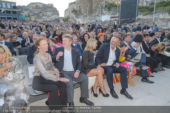 Die Zauberflöte Premiere - Oper im Steinbruch St. Margarethen - Mi 10.07.2019 - Michael LUDWIG mit Ehefrau Irmtraud, Hans Peter DOSKOZIL mit Fre114
