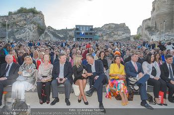 Die Zauberflöte Premiere - Oper im Steinbruch St. Margarethen - Mi 10.07.2019 - Michael LUDWIG mit Ehefrau Irmtraud, Hans Peter DOSKOZIL mit Fre115