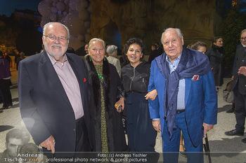 Die Zauberflöte Premiere - Oper im Steinbruch St. Margarethen - Mi 10.07.2019 - Felix und Elisabeth DVORAK, Rosi und Karl BLECHA123