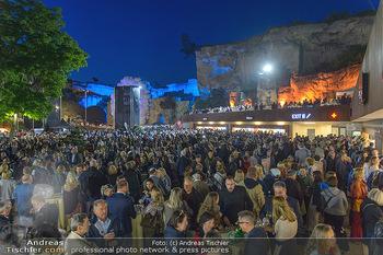 Die Zauberflöte Premiere - Oper im Steinbruch St. Margarethen - Mi 10.07.2019 - Pausenempfang im Steinbruch125